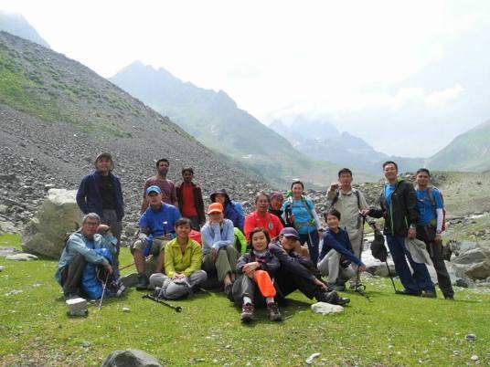 Kashmir trekking trips