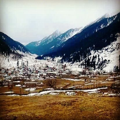 winter in aru valley