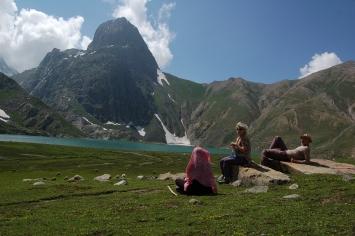 Krishansar lake view