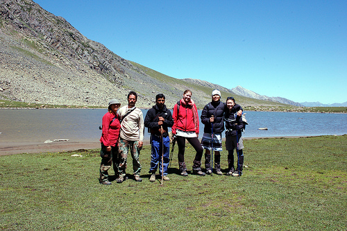 Kashmir satsar lake