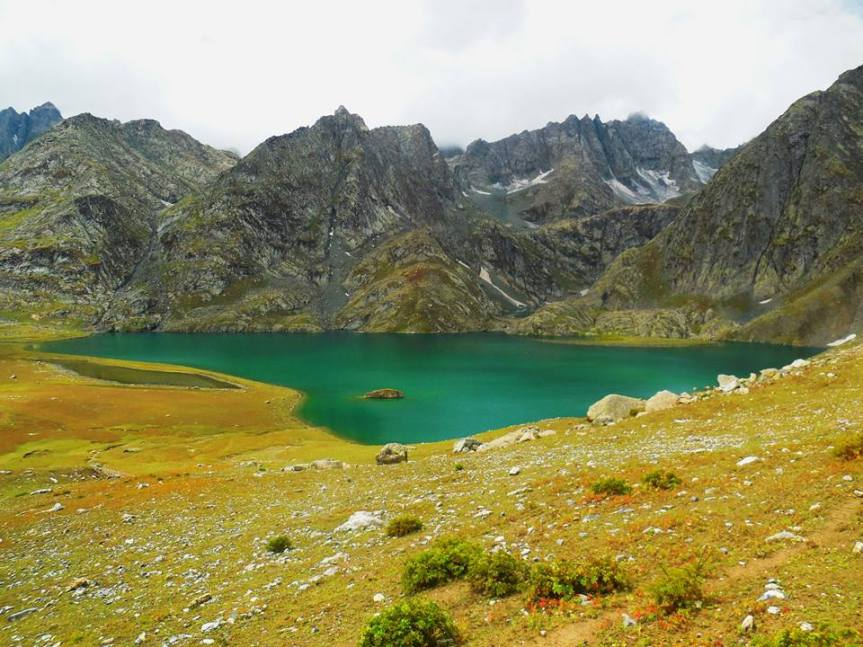 Vishansar lakes trek