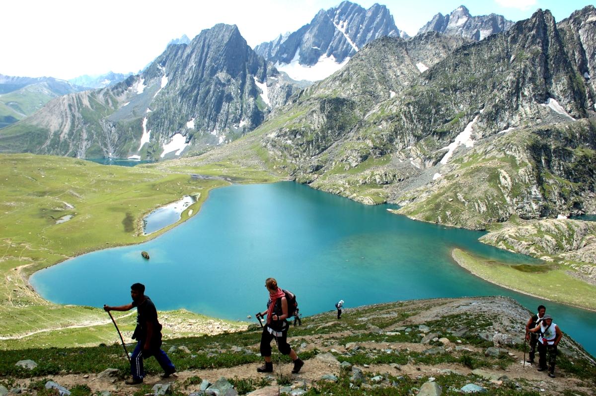 Kashmir Great Lakes Trek in the Himalayas
