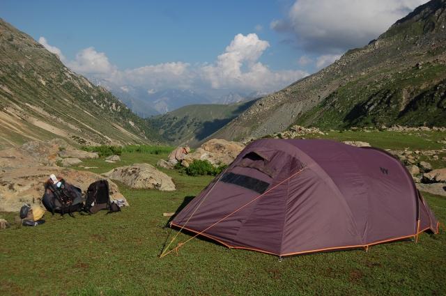 Kashmir Sonamrg lakes trek