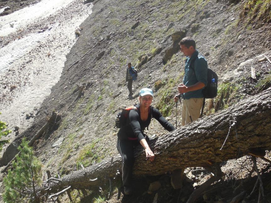 Kashmir high altitude Himalayas trekking
