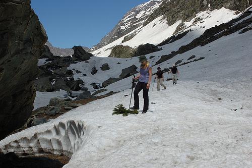 Kolahoi glacier Pahalgam