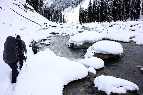 Lidderwat trekking route